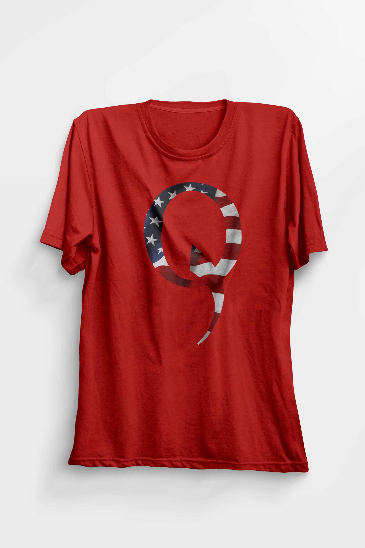 Q Qanon Flag T-shirt