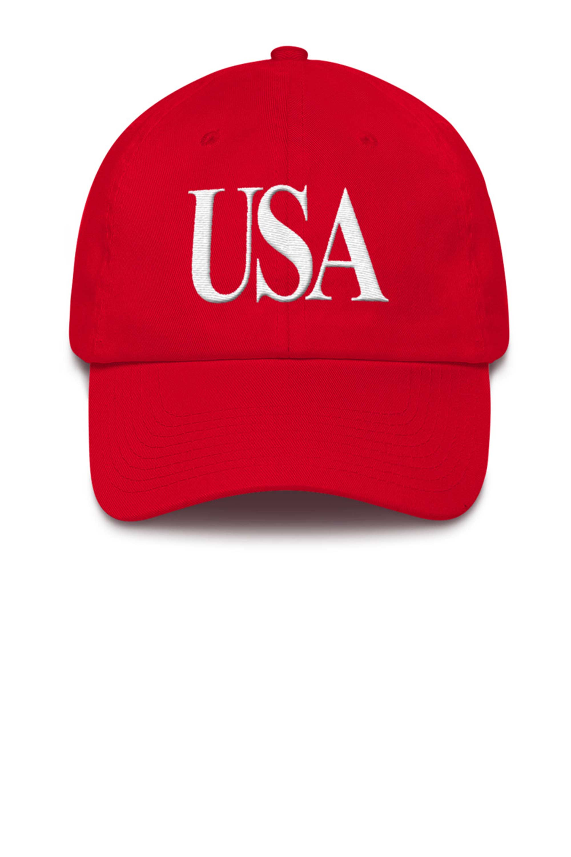 Unisex USA Cap 3D puff embroidery Made in the USA